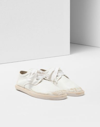 SHOES Fuss-bett leather sneakers