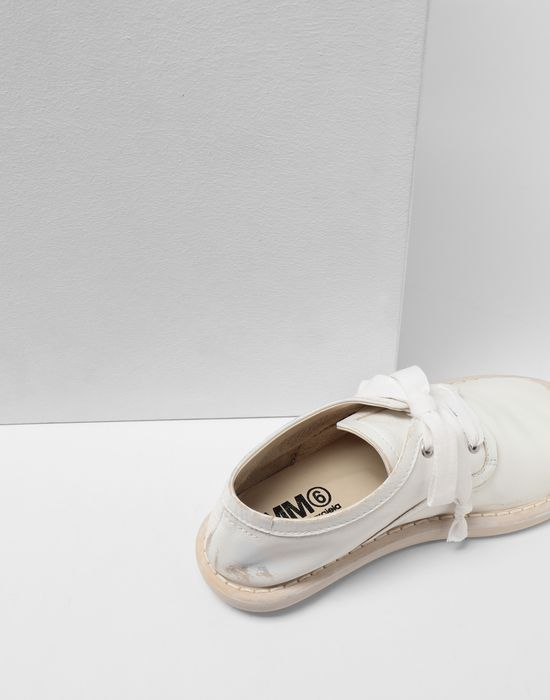 MM6 MAISON MARGIELA Fuss-bett leather sneakers Laced shoes [*** pickupInStoreShipping_info ***] a