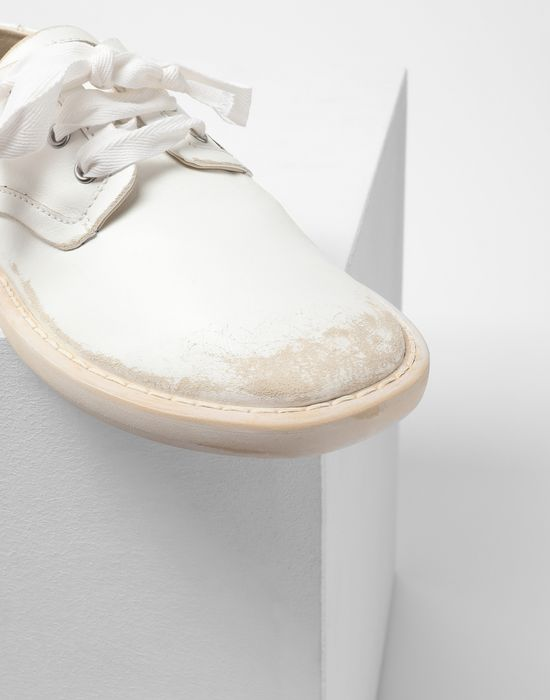 MM6 MAISON MARGIELA Fuss-bett leather sneakers Laced shoes [*** pickupInStoreShipping_info ***] e