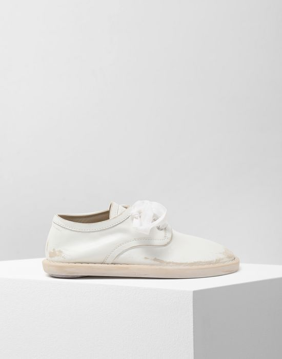 MM6 MAISON MARGIELA Fuss-bett leather sneakers Laced shoes [*** pickupInStoreShipping_info ***] f