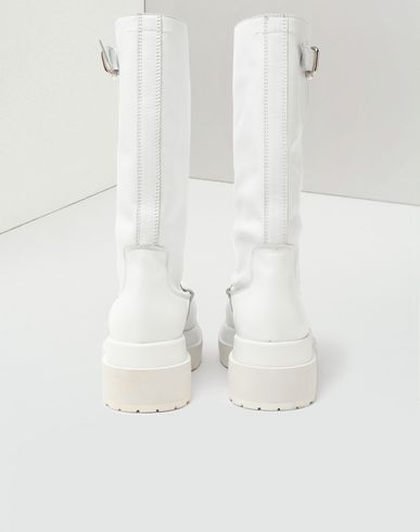 SHOES Gummy high boots