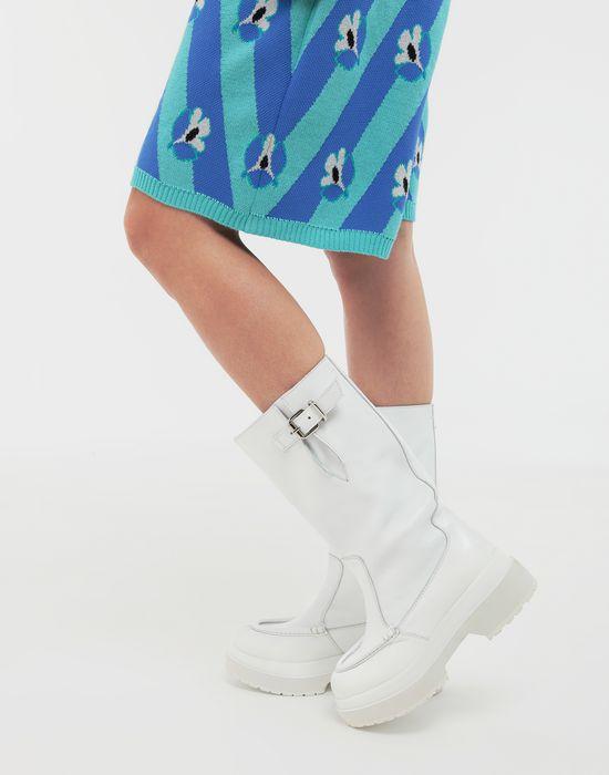 MM6 MAISON MARGIELA Gummy high boots Boots [*** pickupInStoreShipping_info ***] b