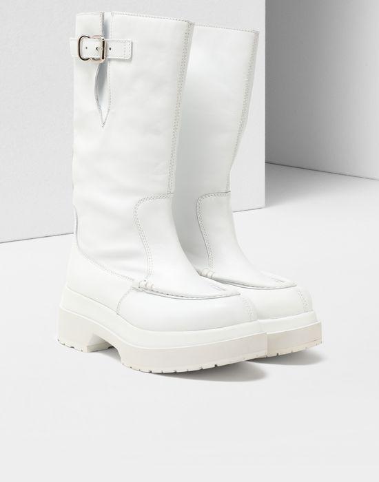 MM6 MAISON MARGIELA Gummy high boots Boots [*** pickupInStoreShipping_info ***] r