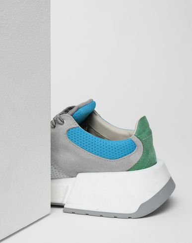 SHOES Runner leather sneakers