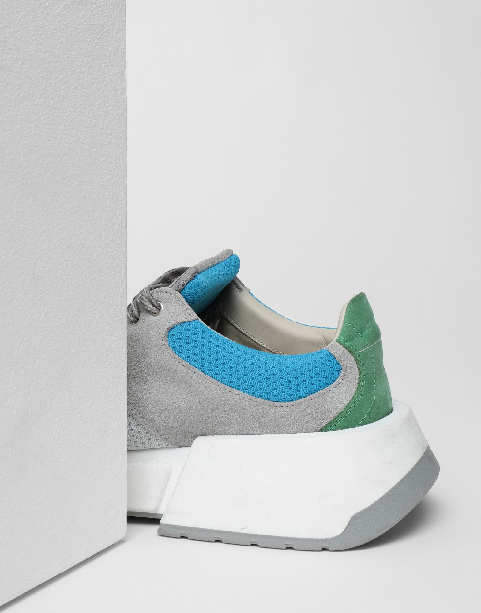 MM6 MAISON MARGIELA Runner leather sneakers Sneakers Woman a