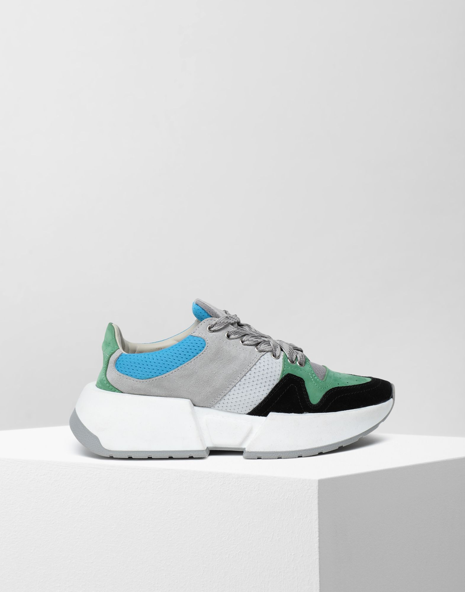 MM6 MAISON MARGIELA Runner leather sneakers Sneakers Woman f