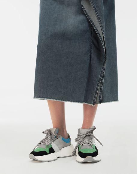 MM6 MAISON MARGIELA Runner leather sneakers Sneakers Woman b