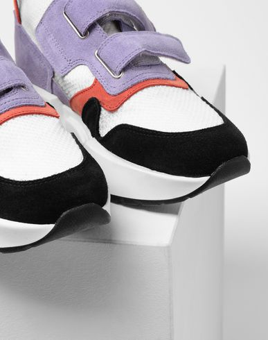 SHOES Sock runner leather sneakers