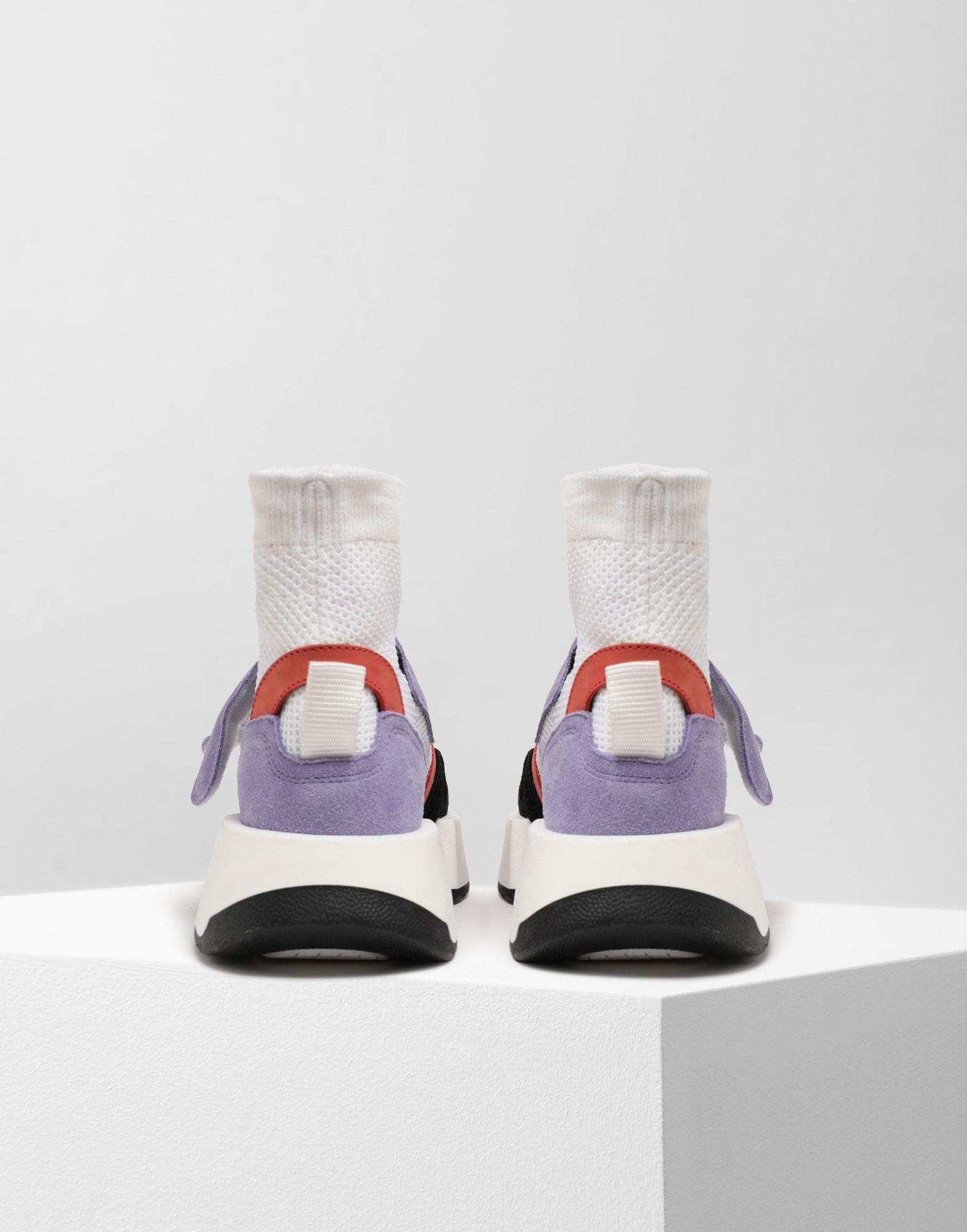 MM6 MAISON MARGIELA Sock runner leather sneakers Sneakers Woman d