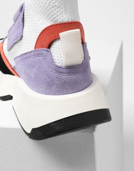 MM6 MAISON MARGIELA Sock runner leather sneakers Sneakers Woman a