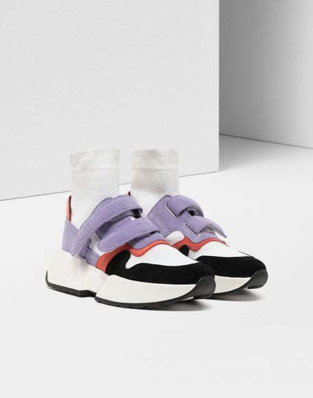 MM6 MAISON MARGIELA Sock runner leather sneakers Sneakers Woman r