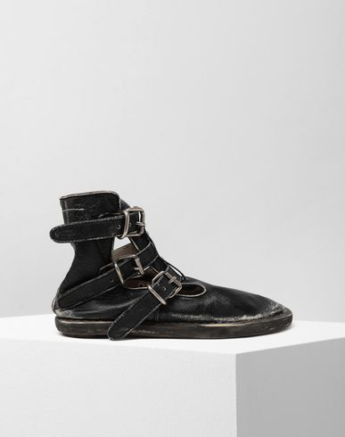 MM6 MAISON MARGIELA Ankle boots [*** pickupInStoreShipping_info ***] Fuss-bett high top sandals f