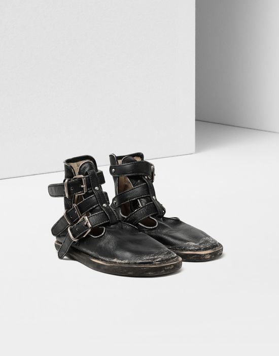 MM6 MAISON MARGIELA Fuss-bett high top sandals Ankle boots [*** pickupInStoreShipping_info ***] r