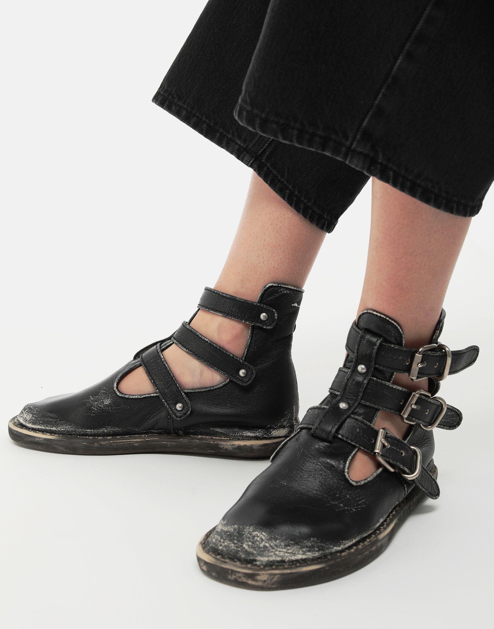 MM6 MAISON MARGIELA Fuss-bett high top sandals Ankle boots Woman b