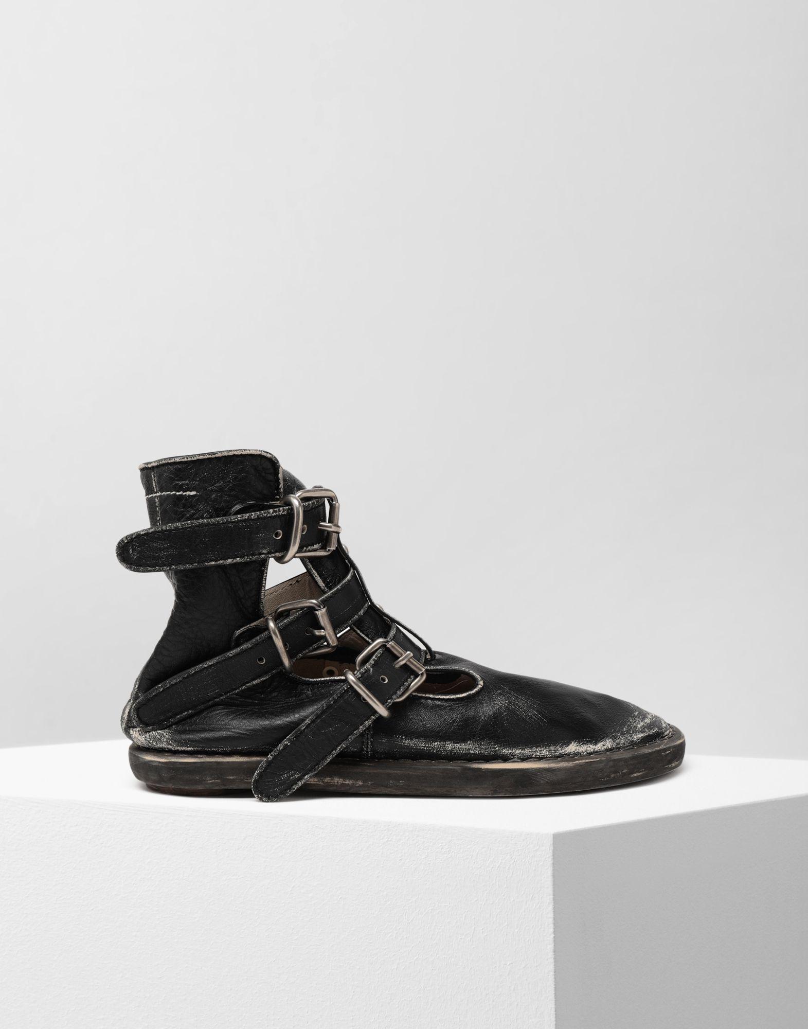 MM6 MAISON MARGIELA Fuss-bett high top sandals Ankle boots Woman f
