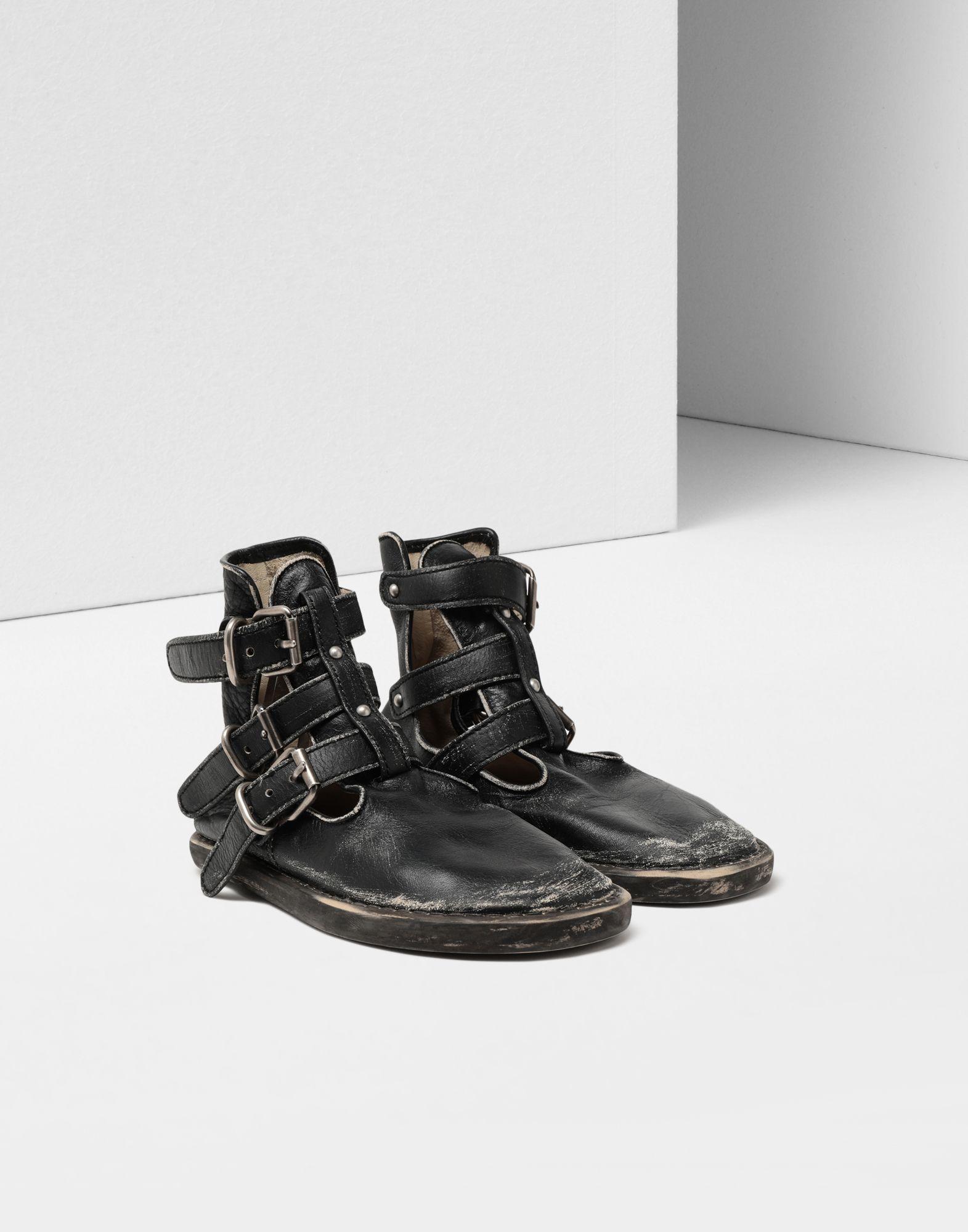 MM6 MAISON MARGIELA Fuss-bett high top sandals Ankle boots Woman r