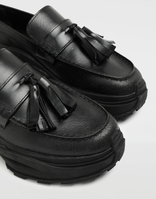 MAISON MARGIELA Spliced tassel loafer sneakers Moccasins [*** pickupInStoreShippingNotGuaranteed_info ***] a
