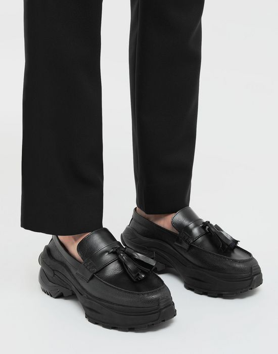 MAISON MARGIELA Spliced tassel loafer sneakers Moccasins [*** pickupInStoreShippingNotGuaranteed_info ***] b