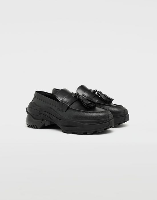 MAISON MARGIELA Spliced tassel loafer sneakers Moccasins [*** pickupInStoreShippingNotGuaranteed_info ***] r
