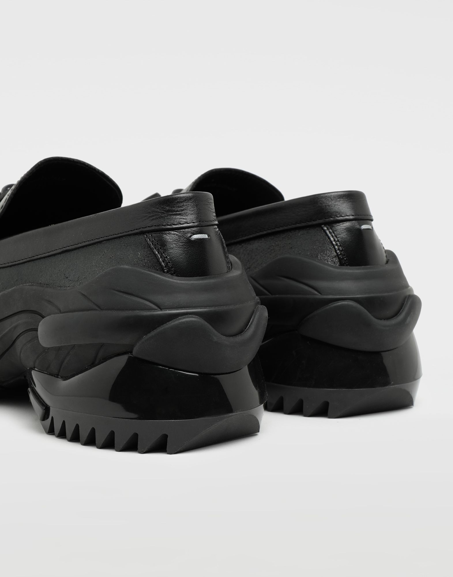 MAISON MARGIELA Sneakers-mocassins à gland Spliced Mocassins Homme e