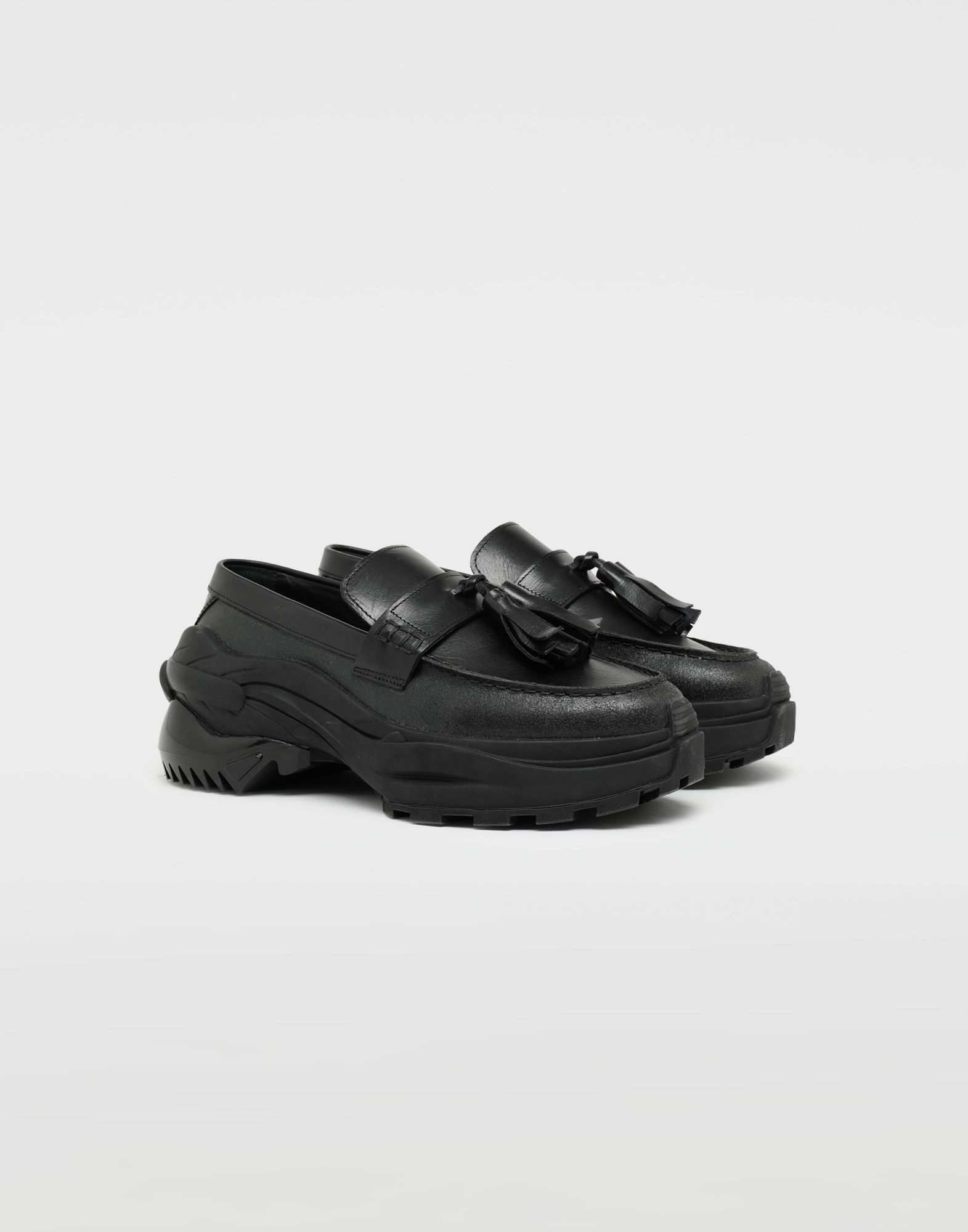 MAISON MARGIELA Sneakers-mocassins à gland Spliced Mocassins Homme r