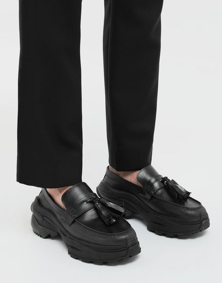 MAISON MARGIELA Sneakers-mocassins à gland Spliced Mocassins Homme b