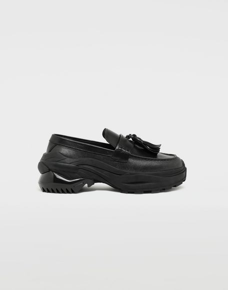 MAISON MARGIELA Sneakers-mocassins à gland Spliced Mocassins Homme f