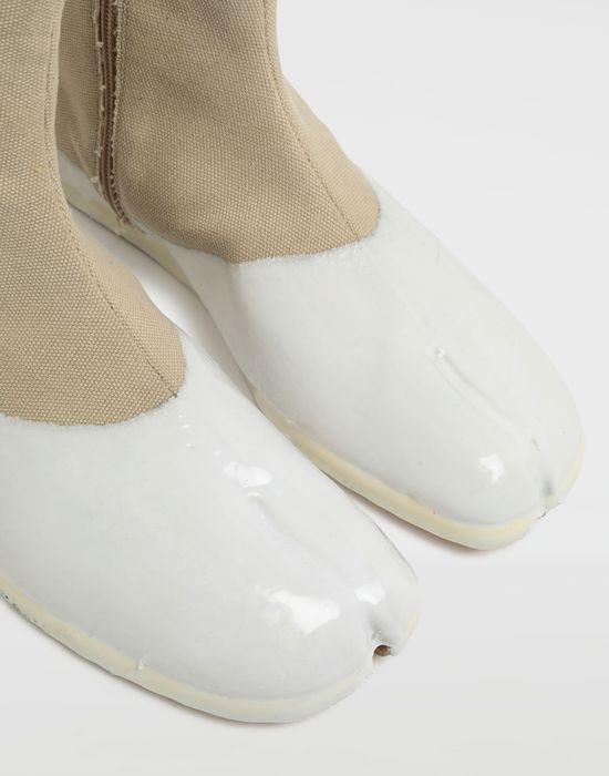 MAISON MARGIELA Tabi laminated flat ankle boots Tabi boots [*** pickupInStoreShippingNotGuaranteed_info ***] a
