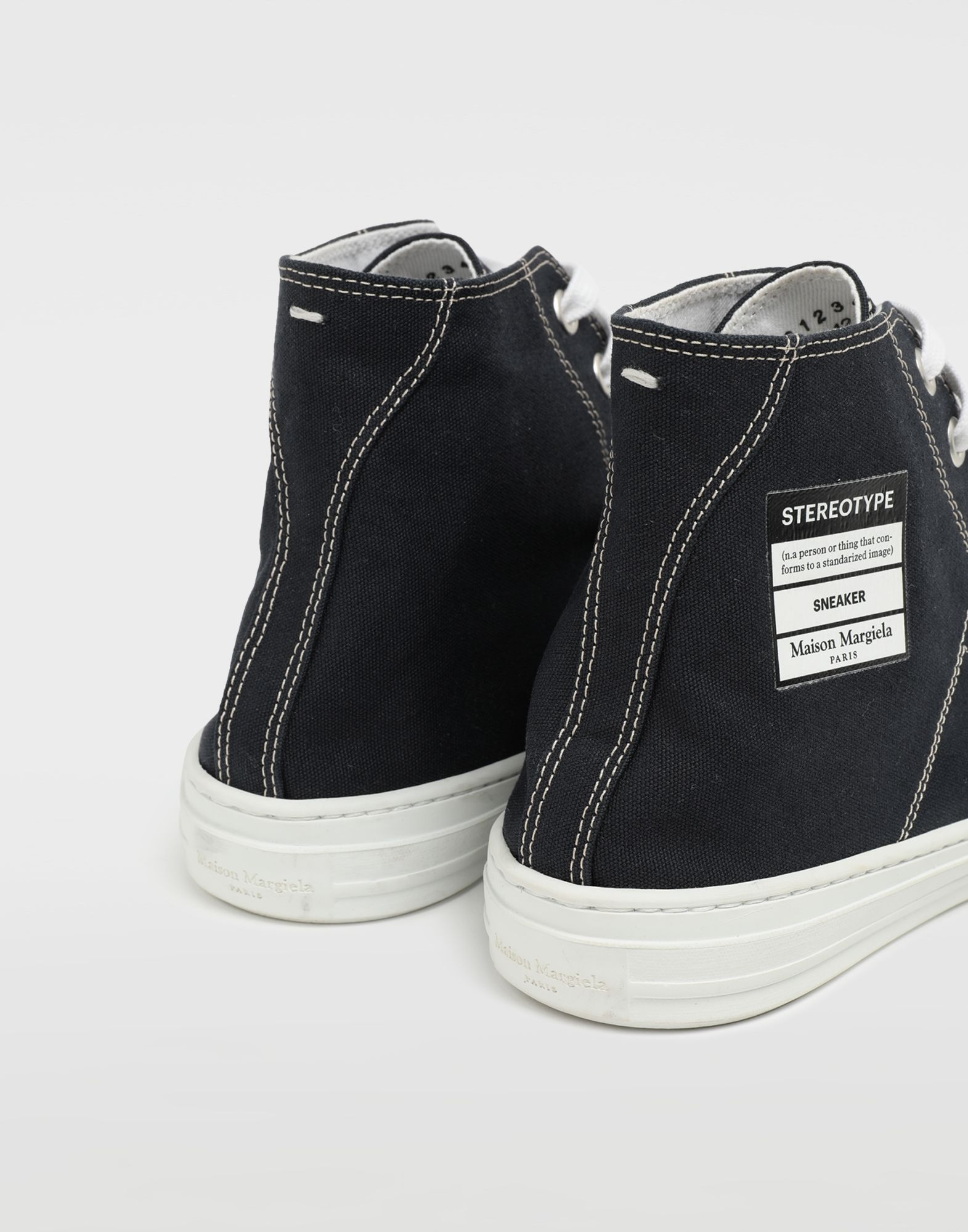 MAISON MARGIELA Stereotype high top sneakers Sneakers Man e
