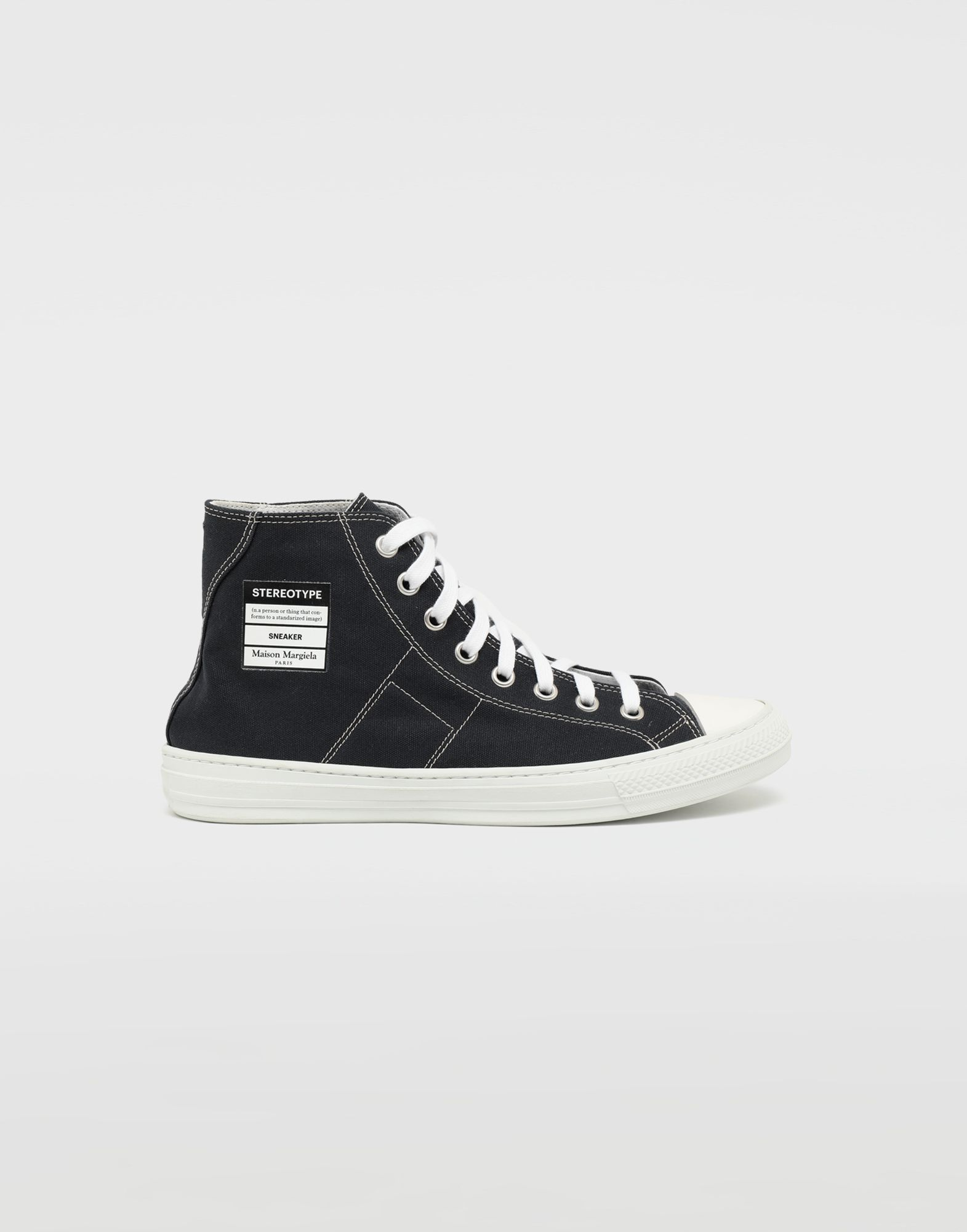 MAISON MARGIELA Stereotype high top sneakers Sneakers Man f
