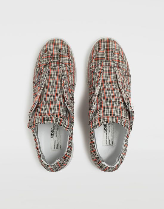 MAISON MARGIELA Replica low top check sneakers Sneakers [*** pickupInStoreShippingNotGuaranteed_info ***] d