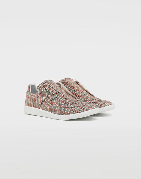MAISON MARGIELA Replica low top check sneakers Sneakers Man r