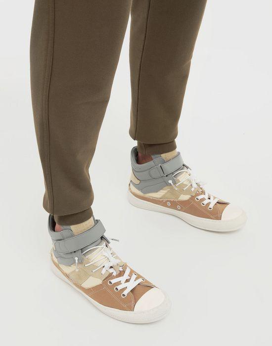 MAISON MARGIELA Spliced high top sneakers Sneakers [*** pickupInStoreShippingNotGuaranteed_info ***] b