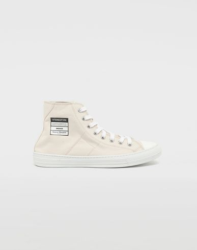 Stereotype high top sneakers