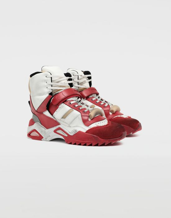 MAISON MARGIELA Retro Fit high top sneakers Sneakers [*** pickupInStoreShippingNotGuaranteed_info ***] r