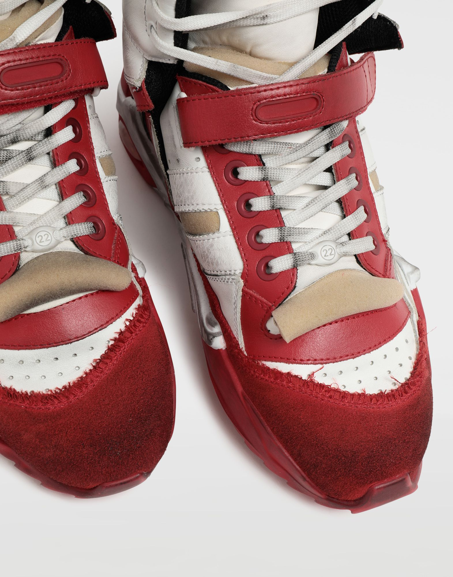 MAISON MARGIELA Retro Fit high top sneakers Sneakers Man a