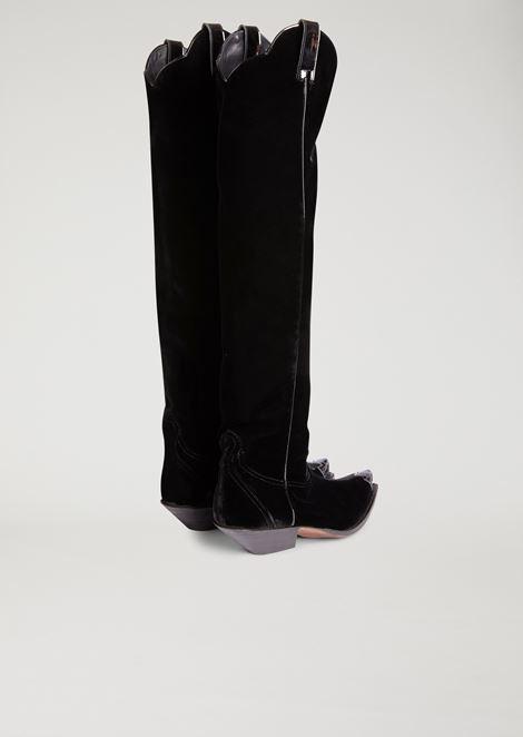 EMPORIO ARMANI ブーツ レディース d