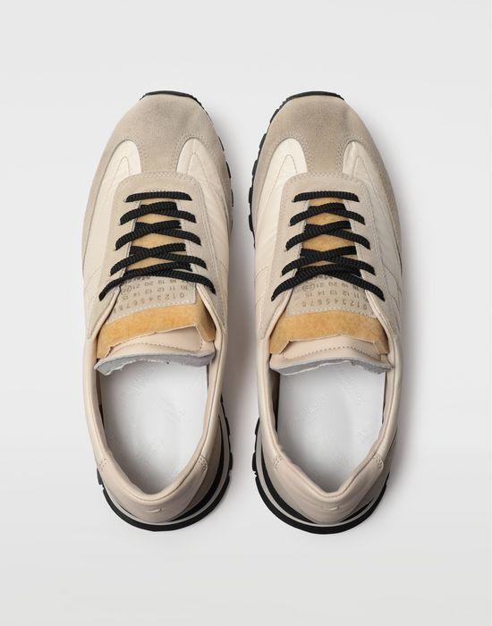 MAISON MARGIELA Dirty Treatment low top runners Sneakers [*** pickupInStoreShippingNotGuaranteed_info ***] d