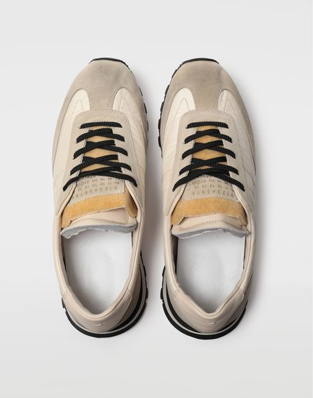 MAISON MARGIELA Dirty Treatment low top runners Sneakers Man d