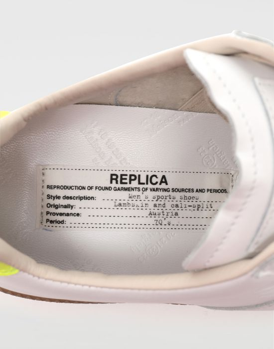 MAISON MARGIELA Replica ロートップ スニーカー スニーカー [*** pickupInStoreShippingNotGuaranteed_info ***] a
