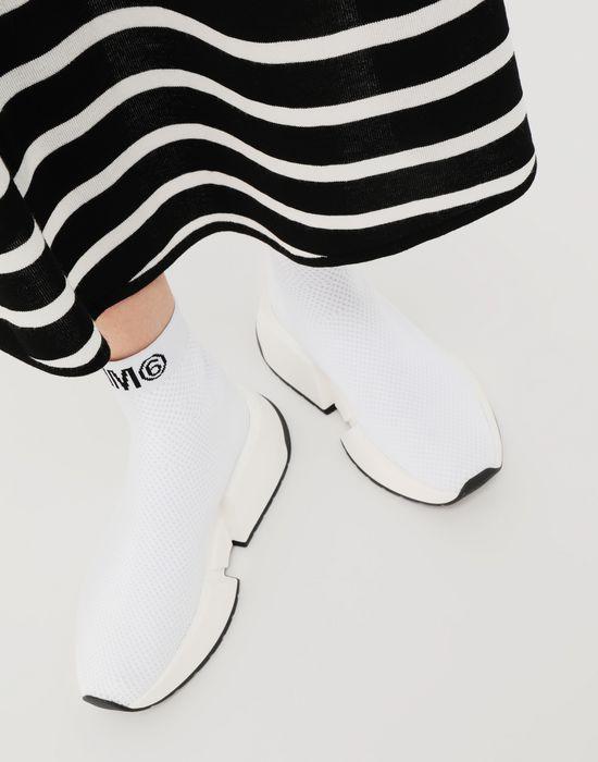 MM6 MAISON MARGIELA Sock runner sneakers Sneakers [*** pickupInStoreShipping_info ***] b