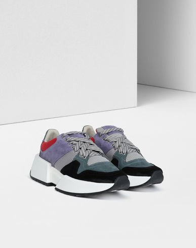 MM6 MAISON MARGIELA Sneakers Woman Runner leather sneakers r