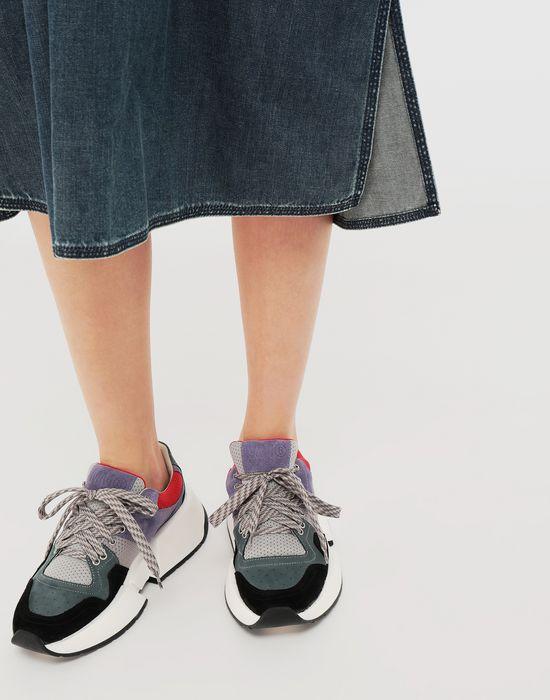 MM6 MAISON MARGIELA Runner leather sneakers Sneakers [*** pickupInStoreShipping_info ***] b