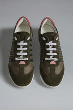 DSQUARED2 Military Punk New Runner Sneakers Sneaker Man