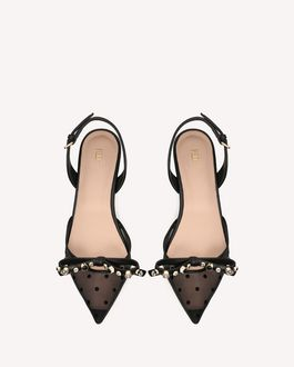 REDValentino GEOMETRIC BOW COURT SHOE