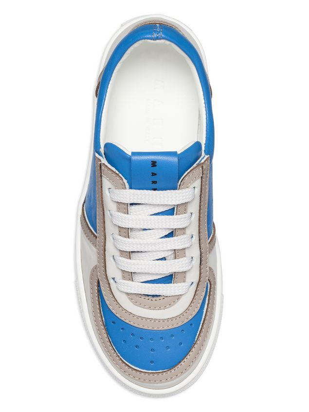Marni Two-tone lace-up sneakers Man - 4