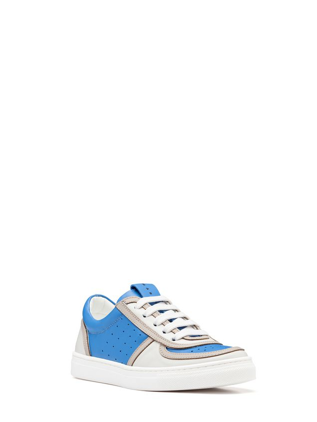 Marni Two-tone lace-up sneakers Man - 2