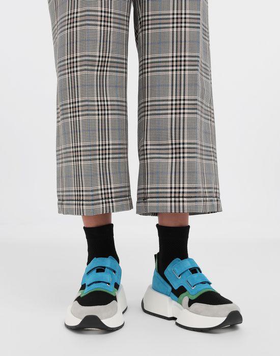 MM6 MAISON MARGIELA Sock runner leather sneakers Sneakers [*** pickupInStoreShipping_info ***] b