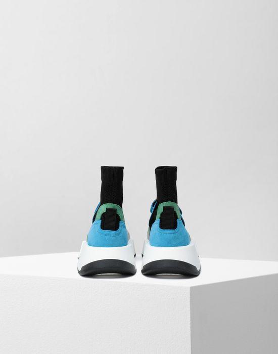 MM6 MAISON MARGIELA Sock runner leather sneakers Sneakers [*** pickupInStoreShipping_info ***] d