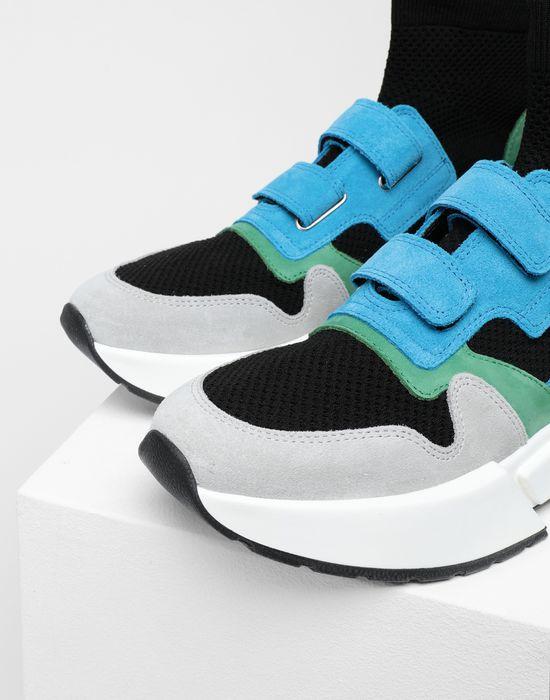 MM6 MAISON MARGIELA Sock runner leather sneakers Sneakers [*** pickupInStoreShipping_info ***] e